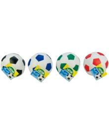 Мяч мягкий футбольный, 10 см, 4 цвета