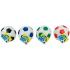 Мяч мягкий футбольный, 10 см, 4 цвета LENA 62176, 4006942621767
