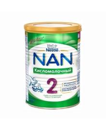 Смесь Nestle NAN 2 Кисломолочный с 6 месяцев, 400 г