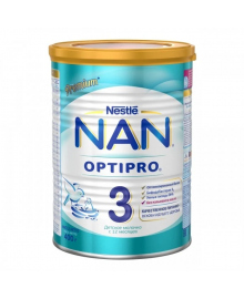 Смесь Nestle NAN 3 OPTIPRO с 12 месяцев, 400 г