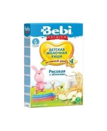 Детская рисовая молочная каша Яблоко, 250 г