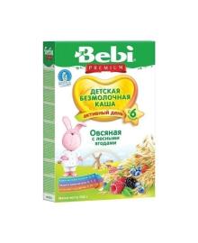 Детская безмолочная каша Овсяная с лесными ягодами, 200 г