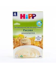Каша безмолочная органическая HiPP Рисовая 200 г