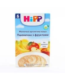 Каша молочная органическая HiPP Пшеничная с фруктами 250 г