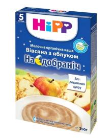 Каша молочная органическая HiPP Спокойной ночи Овсяная с яблоком 250 г