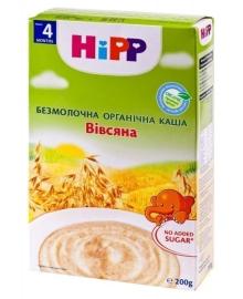 Каша безмолочная органическая HiPP Овсяная 200 г