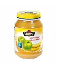 Пюре фруктовое Hame Яблоко Банан 190 г