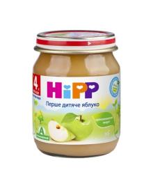 Пюре органическое фруктовое HiPP Яблоко 125 г