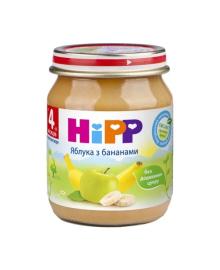 Пюре органическое фруктовое HiPP Яблоко Банан 125 г
