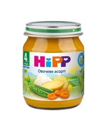 Пюре органическое овощное HiPP Овощное ассорти 125 г