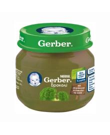 Овощное пюре Gerber Брокколи 80 г