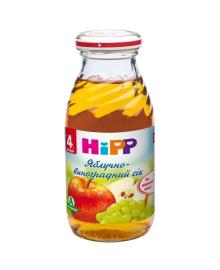 Сок органический HiPP Яблоко Виноград 200 мл