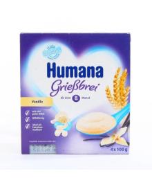 Манный пудинг Humana с ванилью 400 г