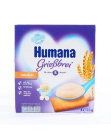 Манный пудинг Humana с печеньем 400 г