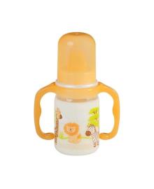Бутылочка Baby-Nova Полипропиленовая с ручками Декор 125 мл 46003, 4001071460034