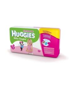 Подгузники Huggies Ultra Comfort Мega для девочек Размер 5 (12-22 кг), 56 шт