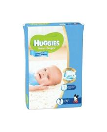 Подгузники Huggies Ultra Comfort Мega для мальчиков Размер 3 (5-9 кг), 80 шт
