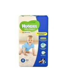 Подгузники Huggies Ultra Comfort Размер 4 для мальчиков 8-14 кг 66 шт