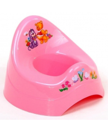 Горшок Maltex Baby Кубусь Розовый