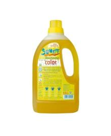 Sonett  органическое жидкое средство для стирки цветных тканей. 1,5 л, (концентрат)