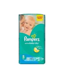 Подгузники Pampers Active Baby Размер 5 Junior 11-16 кг 60 шт
