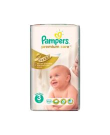 Подгузники Pampers Premium Care Размер 3 Midi 6-10 кг 60 шт