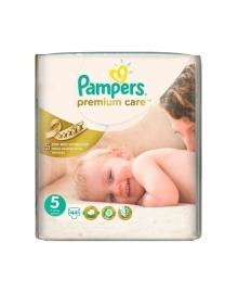 Подгузники Pampers Premium Care Размер 5 Junior 11-16 кг 44 шт