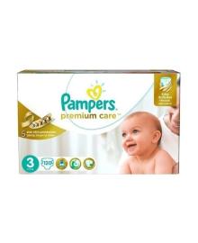 Подгузники Pampers Premium Care Размер 3 Midi 6-10 кг 120 шт