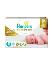 Подгузники Pampers Premium Care Размер 5 Junior 11-16 кг 88 шт
