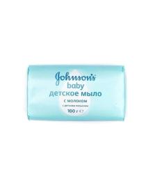 Мыло Johnson`s с молоком 100 г