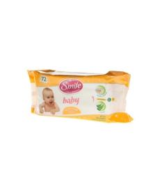 Влажные салфетки Smile Baby Экстракт ромашки и алоэ 72 шт