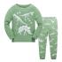 Детская пижама Wibbly pigbaby Динозавры Зеленый
