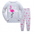 Детская пижама Wibbly pigbaby Фламинго Серый