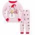 Детская пижама Wibbly pigbaby Снеговик Розовый