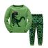 Детская пижама Wibbly pigbaby Динозавр Зеленый