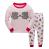 Детская пижама Wibbly pigbaby Ёжик Розовый