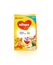 Каша Milupa молочная манная с фруктами, 210 г