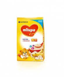 Каша молочная Milupa Рисовая с бананом 210 г
