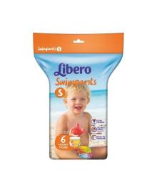 Подгузники Libero Swimpants Размер S (7-12 кг), 6 шт