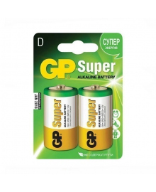 Батарейка GP Super Alkaline, 13A, LR20, D