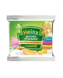 Детское печеньице Heinz 6 злаков 60 г