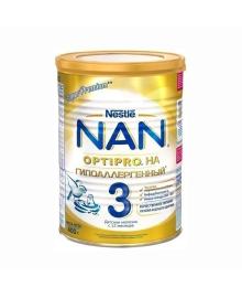Смесь Nestle NAN Гипоаллергенный 3 с 12 месяцев, 400 г