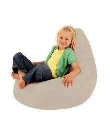 Кресло-груша, цвета кофе с молоком, (L) Flybag, 2100089721174