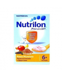 Каша молочная Nutrilon Мультизлаковая с фруктами  225 г