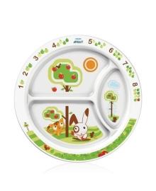 Детская порционная тарелка (белая) Philips Avent SCF702/00