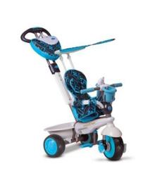 Велосипед Smart Trike Dream 4в1, голубо-черный