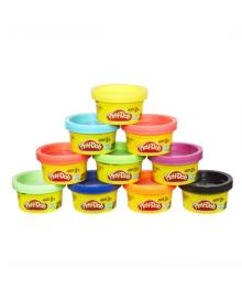 Набор пластилина Play-Doh в тубусе 10 шт