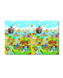 Игровой коврик Dwinguler Dino Adventure 190x130x1.5 см 167362, 8809170887952