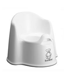 Горшок-кресло Baby Bjorn белый