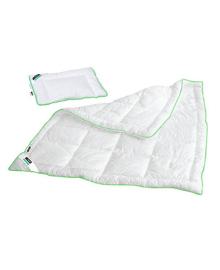 Набор детский пододеяльник/одеяло с тенцелем 200 г/м2 110x140